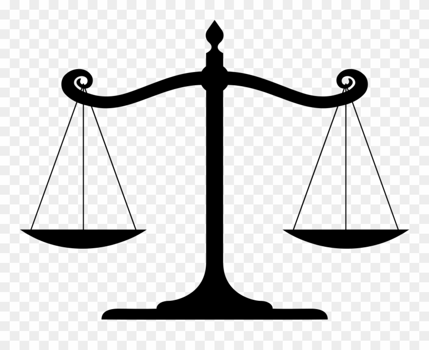 Laws clipart balance scale. Law balanced pinclipart