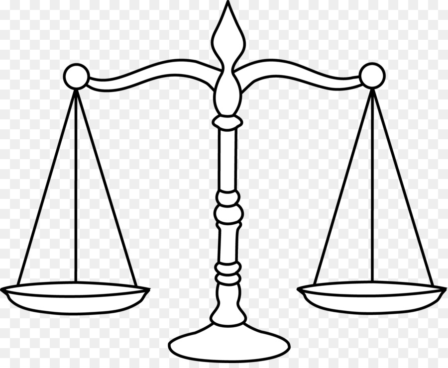 Balance clipart black and white. Weighing scale lady justice