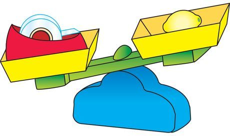 Scale clipart preschool. Heavy balance math kindergarten
