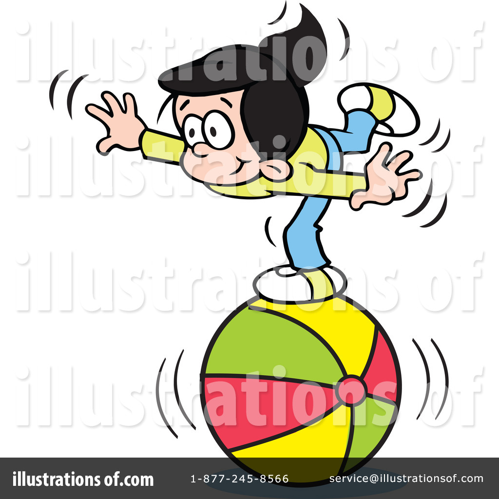 Illustration by johnny sajem. Balance clipart cartoon
