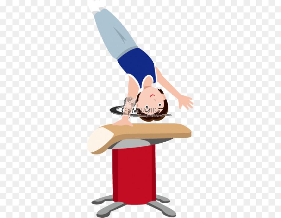 Vault artistic gymnastics beam. Balance clipart cartoon