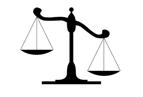 Balance clip art panda. Law clipart