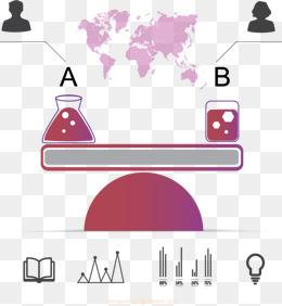 Lock chart smart twoway. Balance clipart comparison