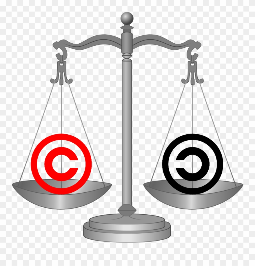 Balance clipart justice. Scales of copyright policy