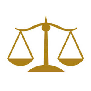 Balance clipart justice. Tilted scale clip and