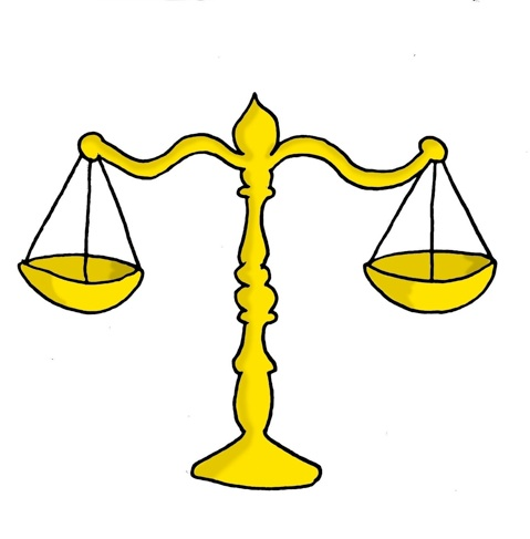 Scale collection scales of. Justice clipart cartoon