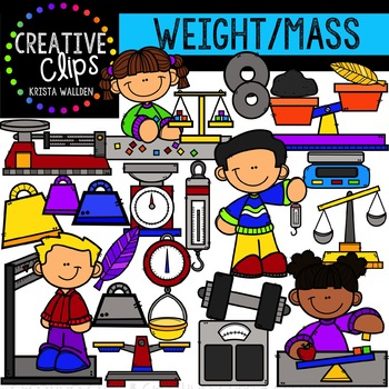 Weight clipart wieght. And mass measurement creative