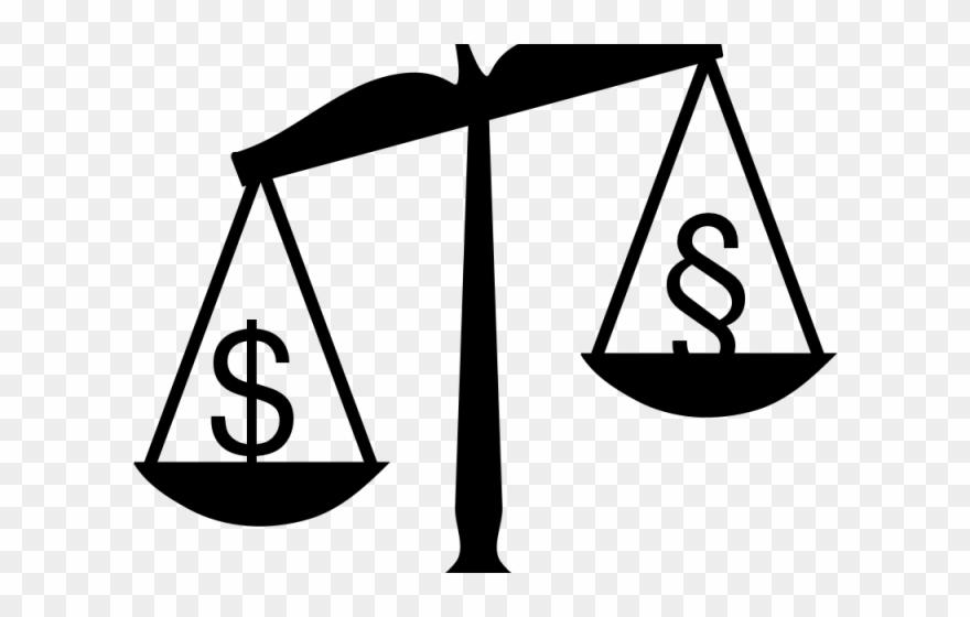 Balance money . Criminal clipart criminal justice system