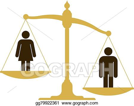 Balance clipart old fashioned. Eps vector unbalanced scale