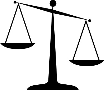 Scale pencil and in. Balance clipart old fashioned