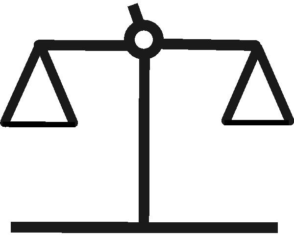 Balanced clip art at. Balance clipart scale