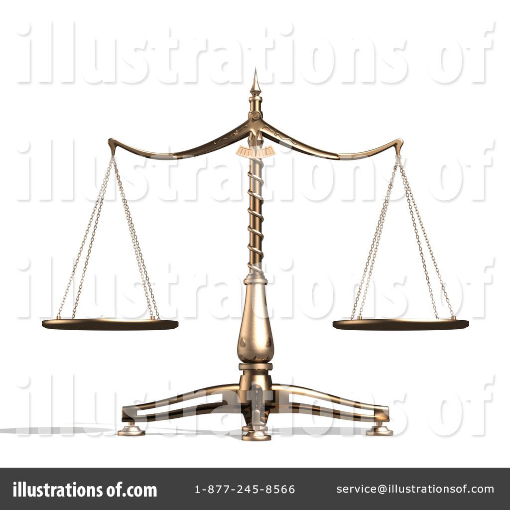 Scales illustration by anastasiya. Balance clipart unbiased