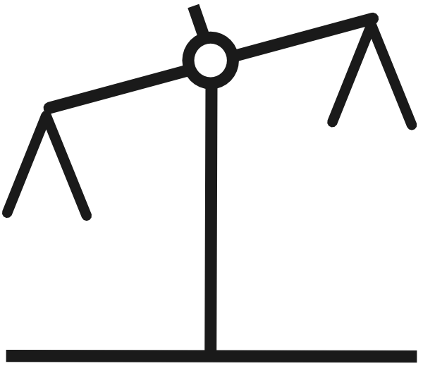 Justice clipart judgement. Balance scale drawing at