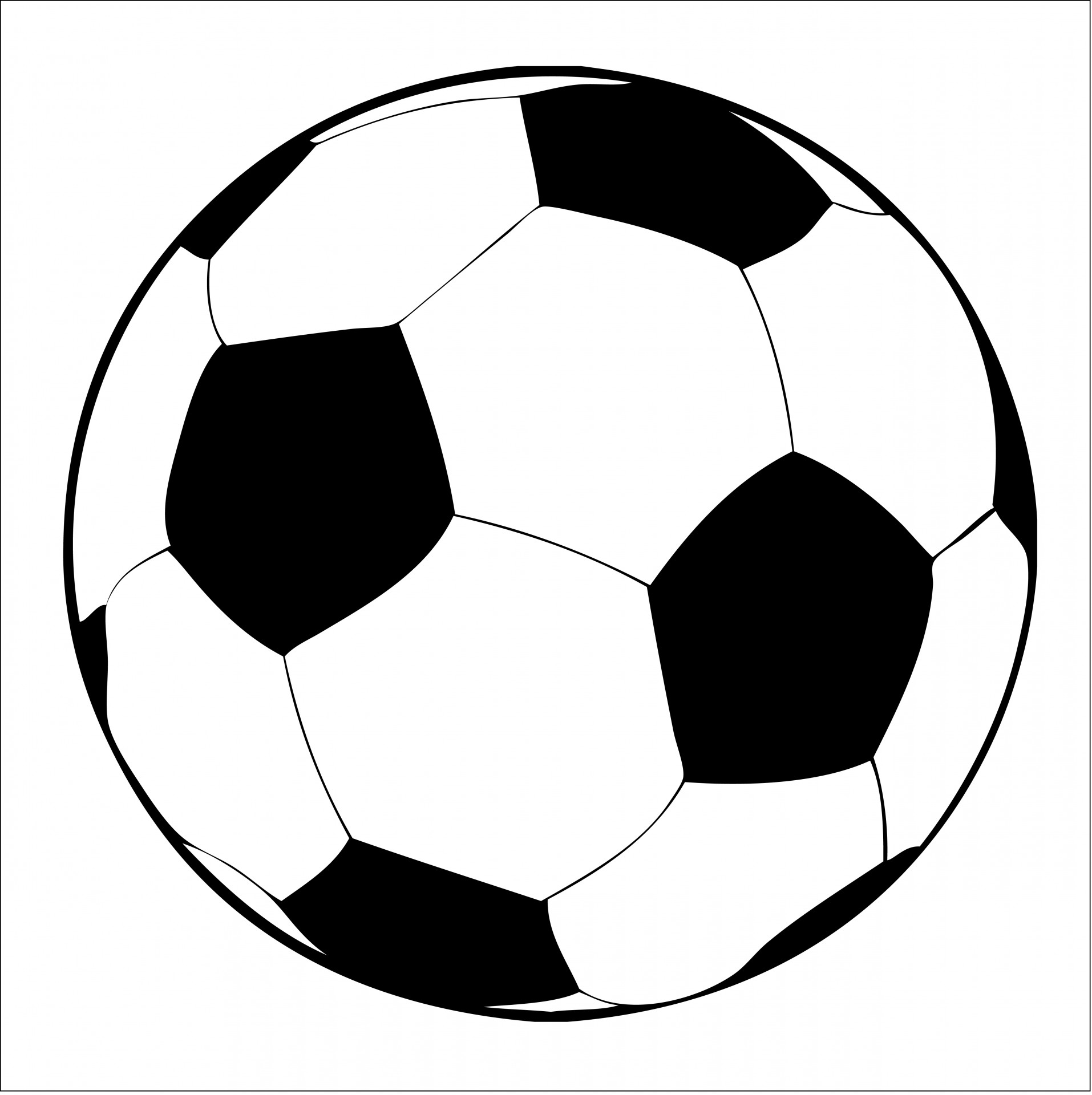 Clipart ball. Soccer free stock photo