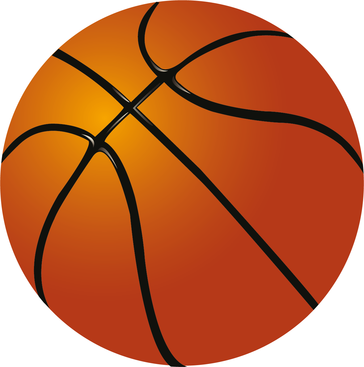 Basketball . Clipart ball