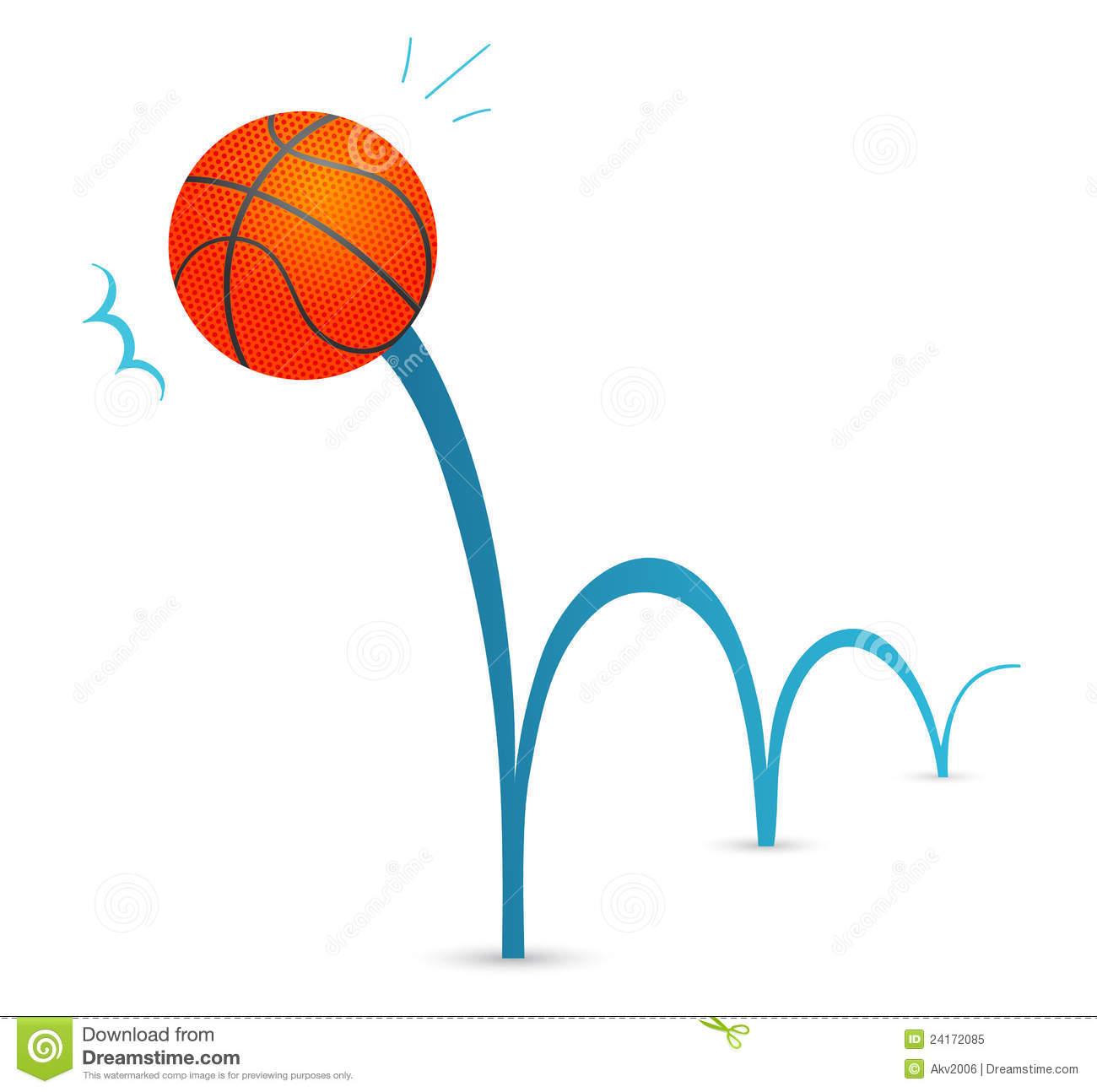Cartoon bouncing . Ball clipart animated