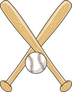 Clip art sports of. Ball clipart baseball bat