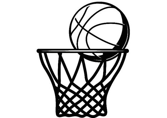 Ball clipart basketball hoop. Backboard goal rim basket