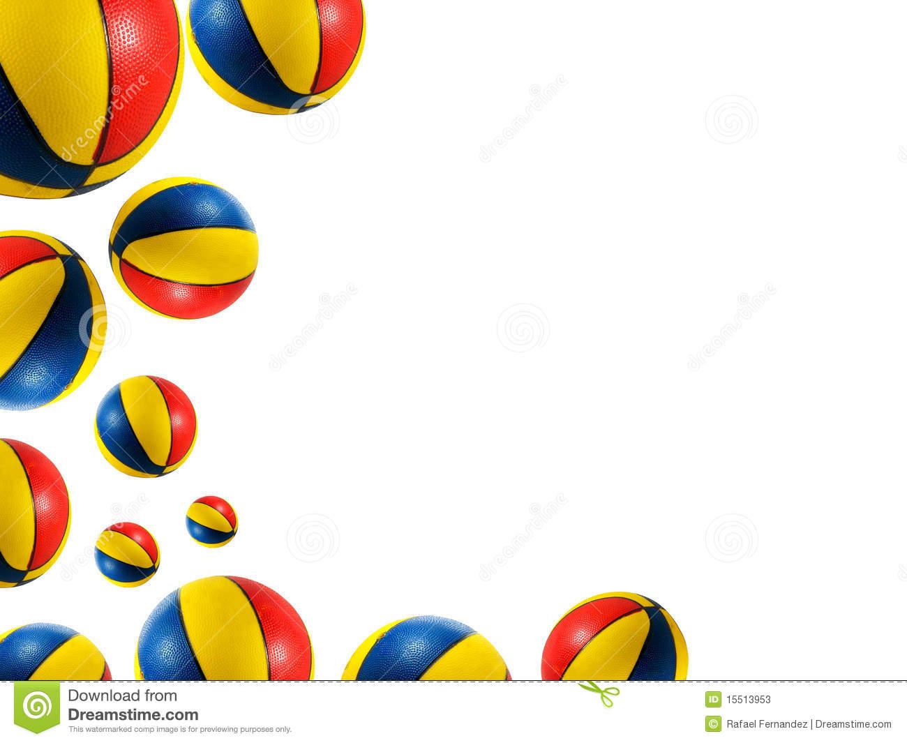 Beach ball . Beachball clipart border