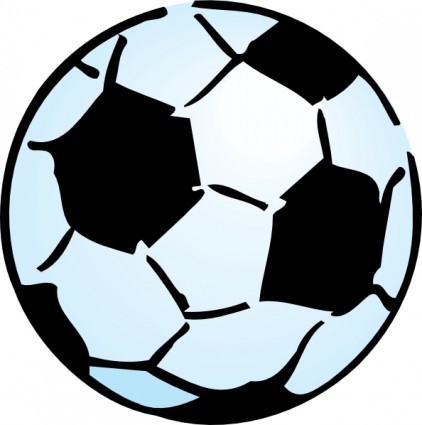 Soccer ball clip art. Balls clipart border