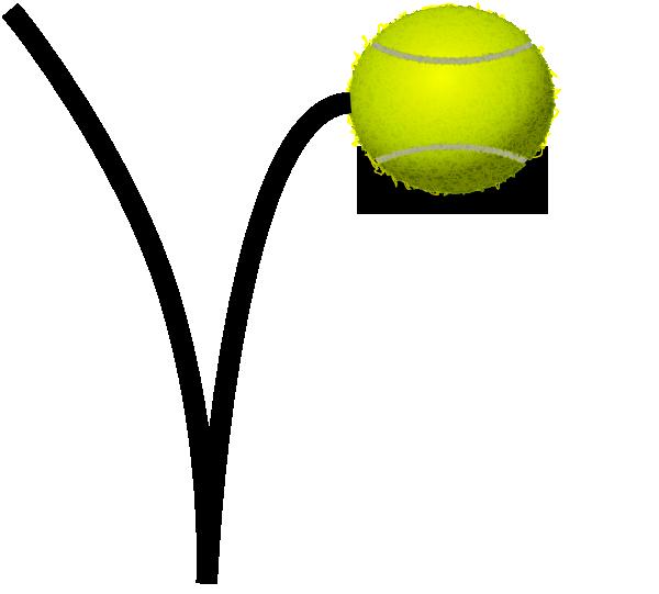 Tennis bounce clip art. Ball clipart bouncy ball