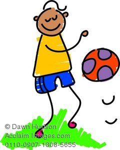 Ball clipart bouncy ball. Illustration of a cute