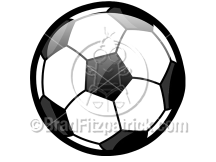 Soccer picture royalty free. Ball clipart cartoon