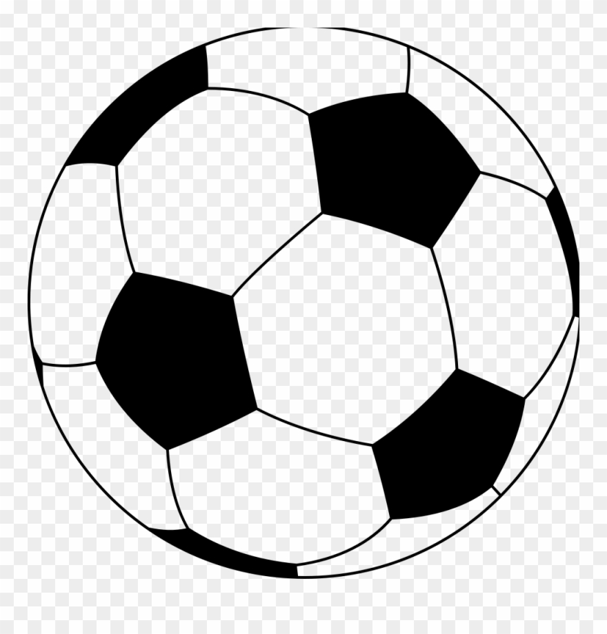 Balls clipart simple. Soccer ball transparent cartoon