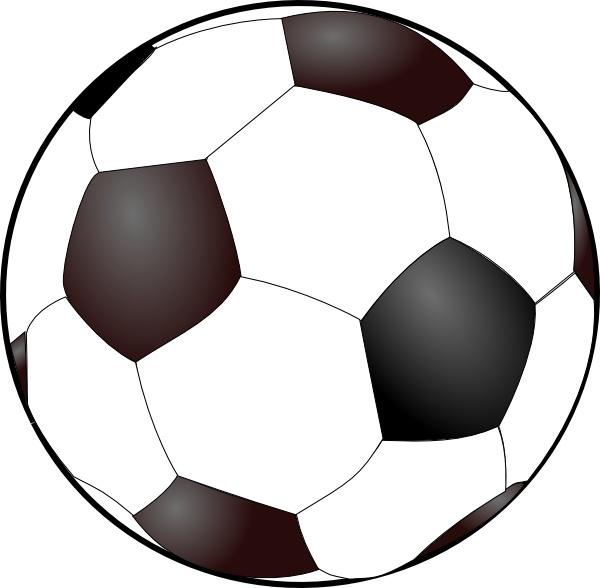 Soccer ball free vector. Balls clipart clip art