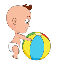 Search results for toddler. Balls clipart cute