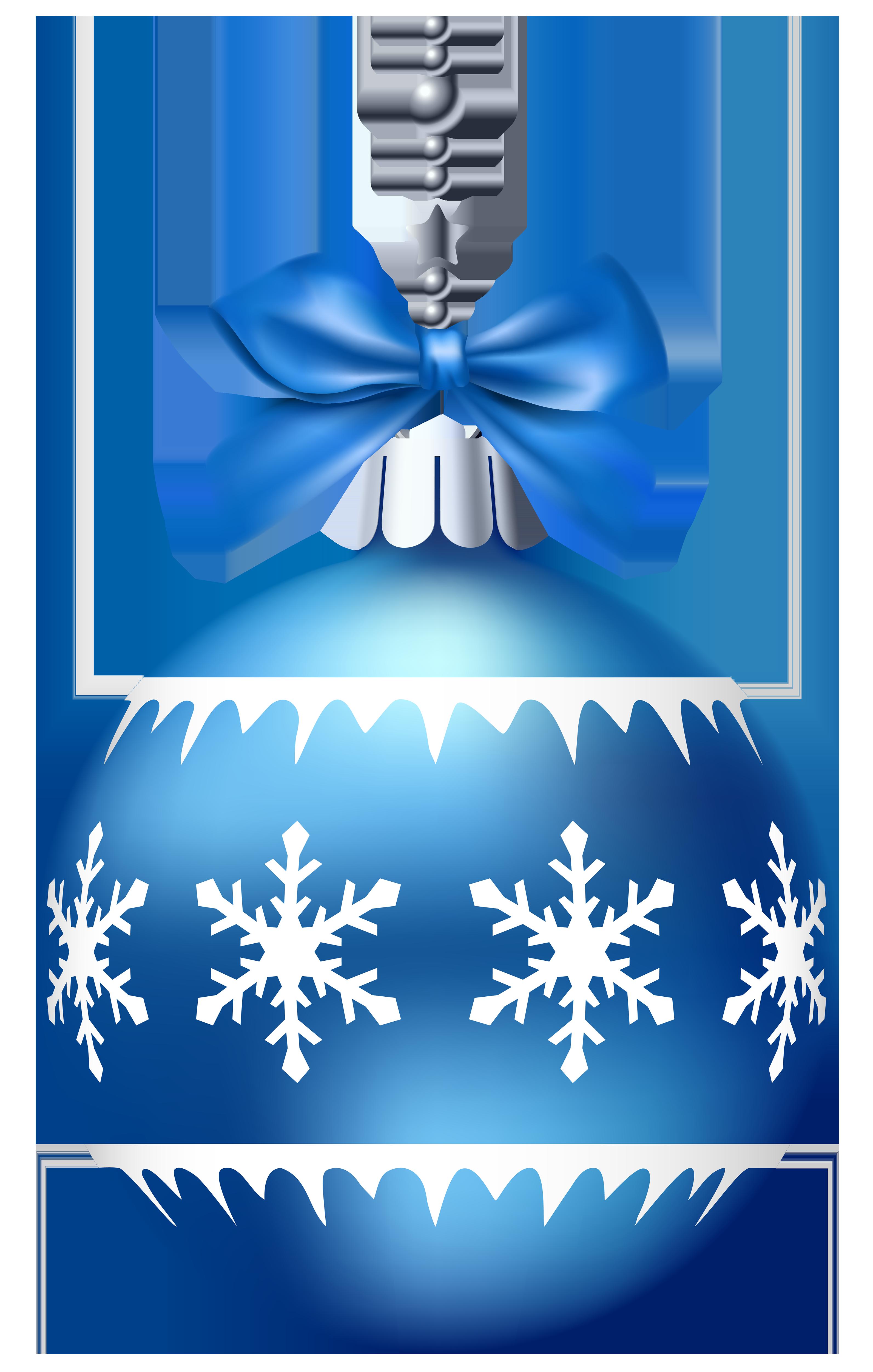 Ornament blue