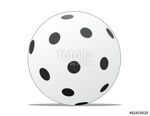 Stock image and royalty. Ball clipart floorball