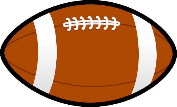 Football clip art at. Ball clipart footy