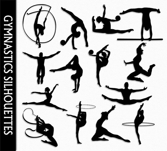 Ball clipart gymnastics. Clip art graphic rhythmic