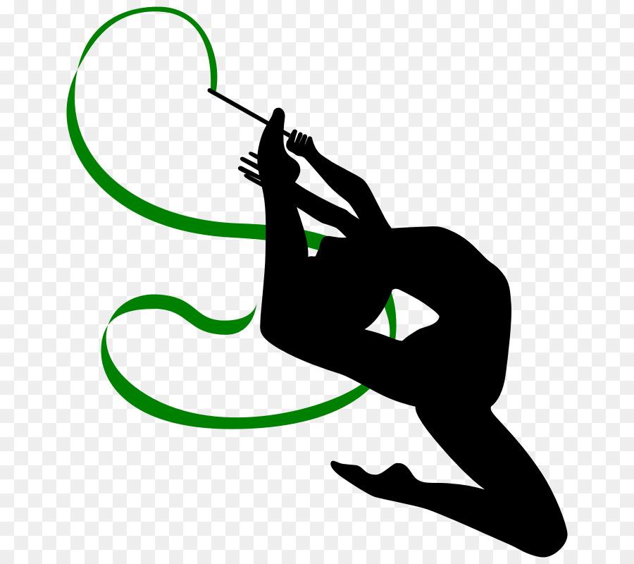 Rhythmic ribbon clip art. Ball clipart gymnastics