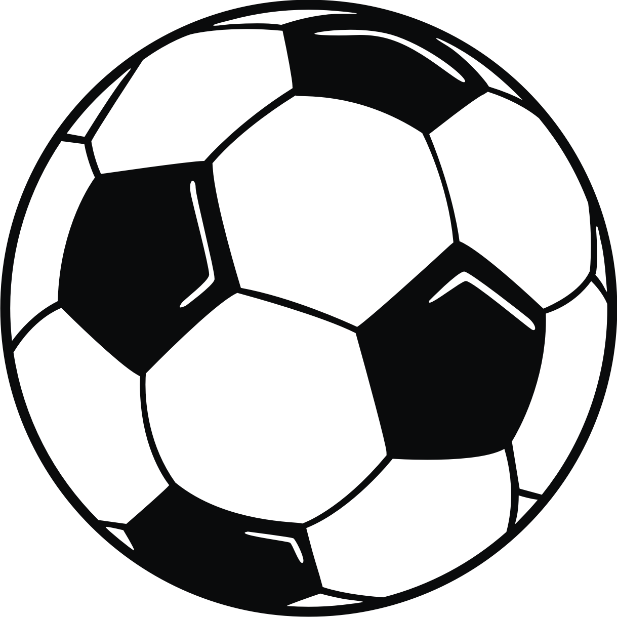 Clip art ball with. Award clipart soccer