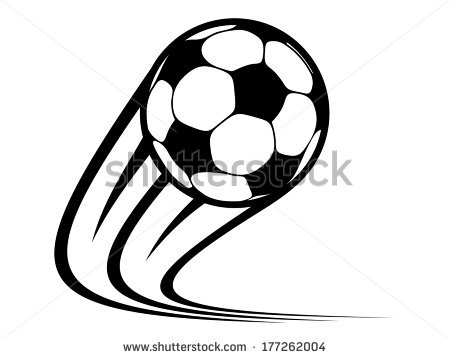 Ball clipart logo. Zooming soccer panda free