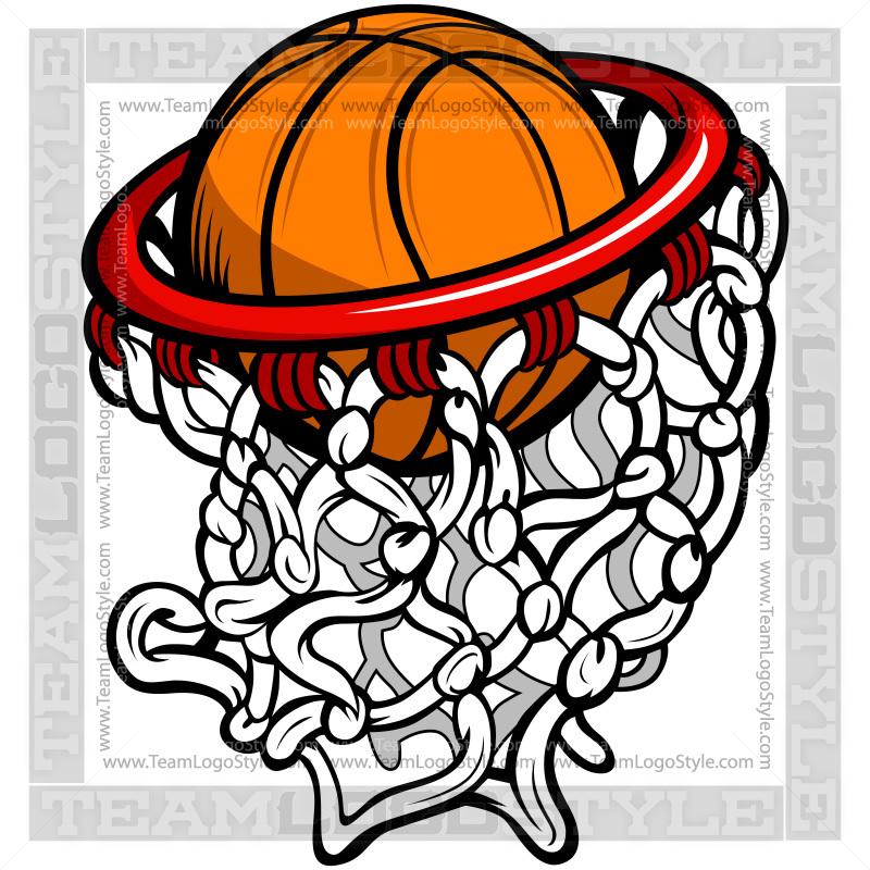 Ball clipart logo. Basketball hoop clip art