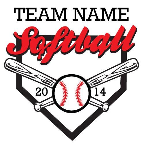 Softball . Ball clipart logo