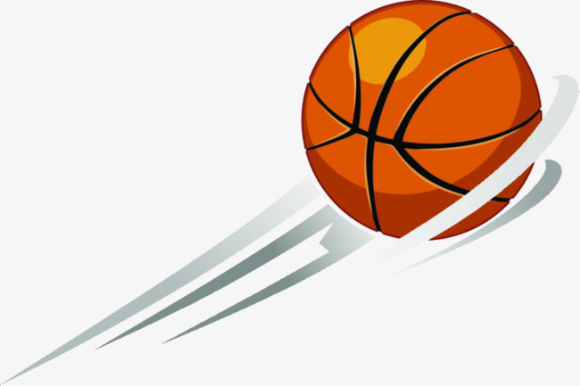 Flying basketball cartoon png. Ball clipart motion