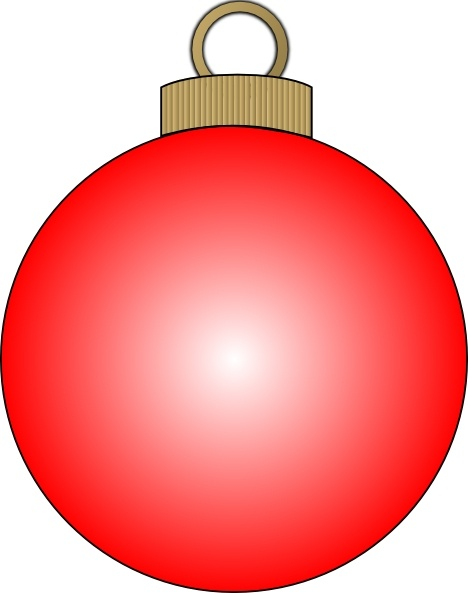 Christmas clip art free. Ball clipart ornament