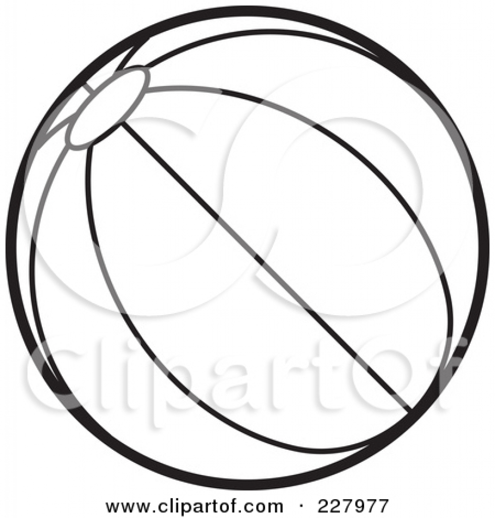 Ball clipart outline. Drawing at getdrawings com
