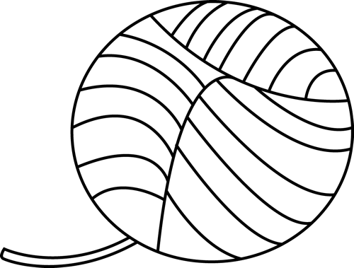 Ball clipart outline. Black and white of