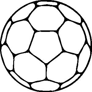 Handball clip art panda. Ball clipart outline
