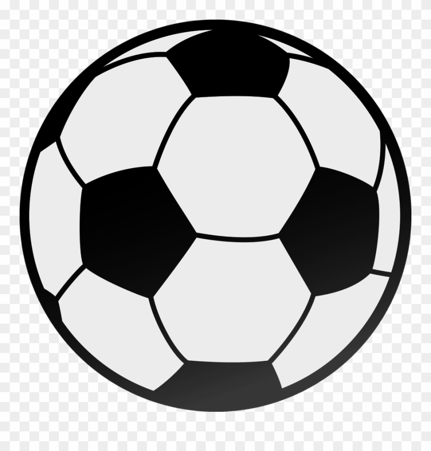 Ball clipart printable. Picture of a soccer