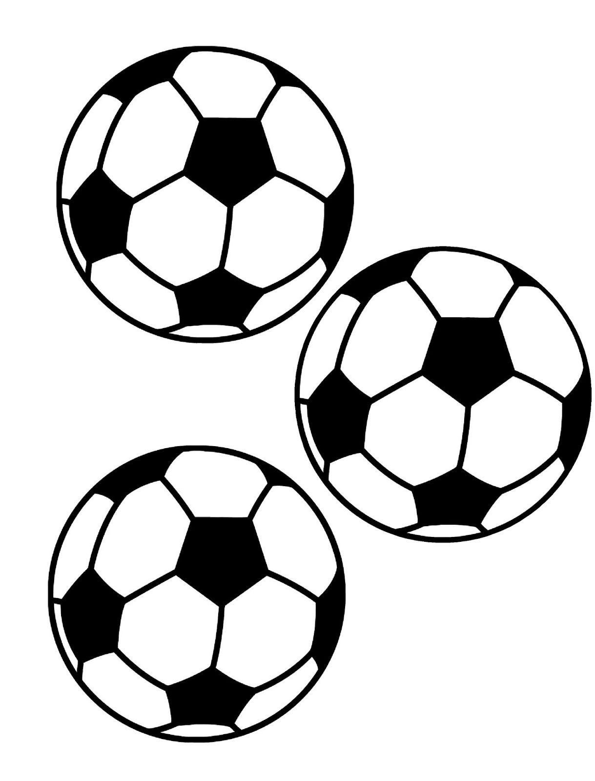 Balls clipart printable. Picture of a soccer
