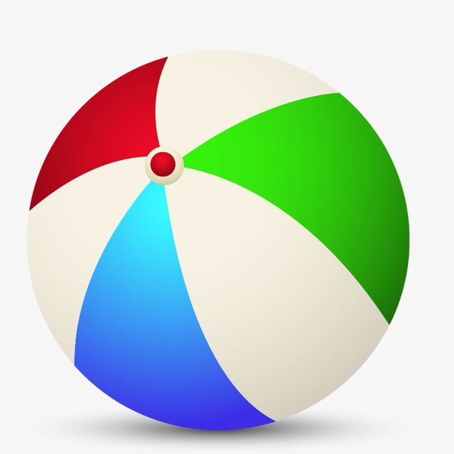 Beach toy round png. Beachball clipart rubber ball