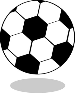 Soccer image drawing of. Ball clipart simple