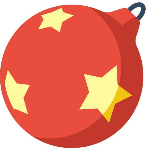 Ball clipart simple. Christmas icon png image