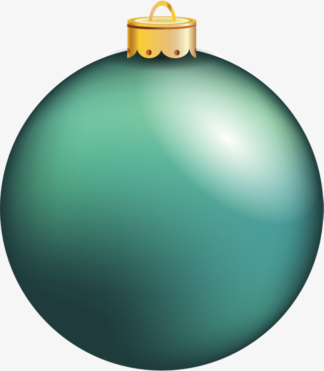 Ball clipart simple. Green ornaments decorative pattern